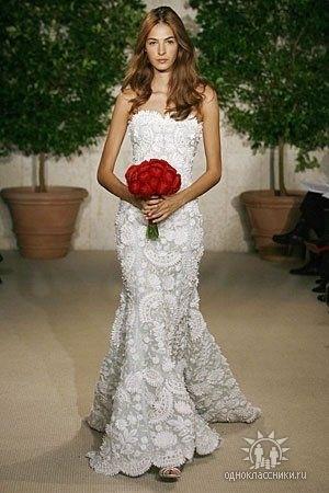 vestido de noiva de crochê irlandês