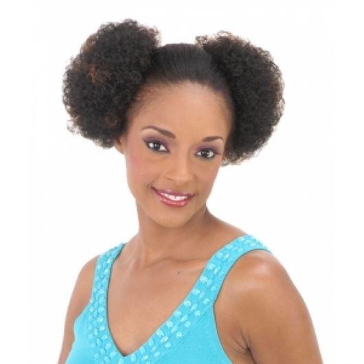 penteado afro puff alto
