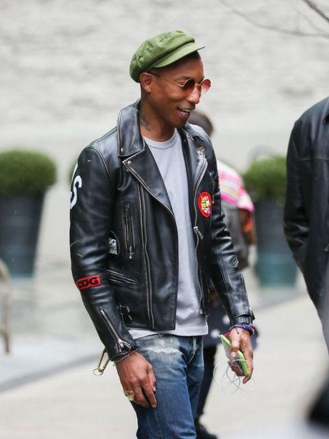 jaquetas com patches de couro