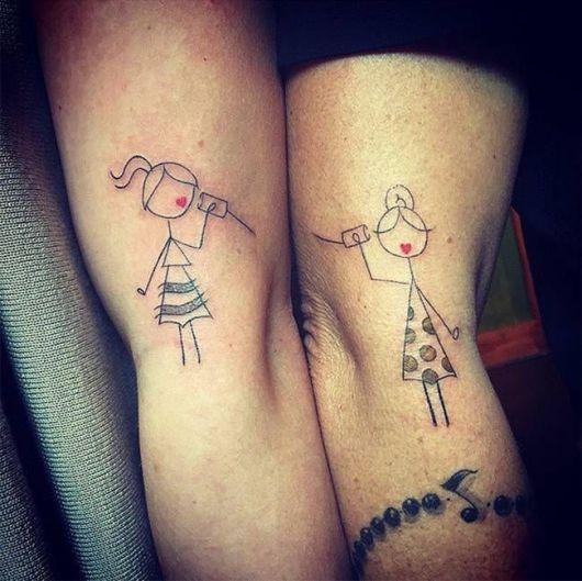 tatuagem mãe e filha 2