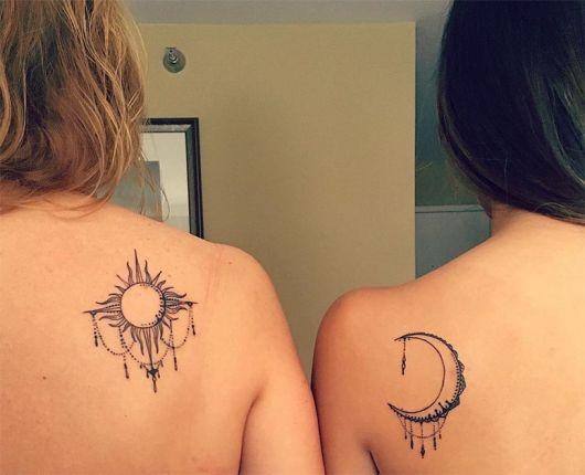tatuagem mãe e filha combinada