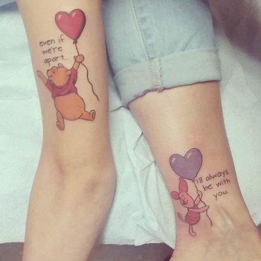 tatuagem mãe e filha desenho