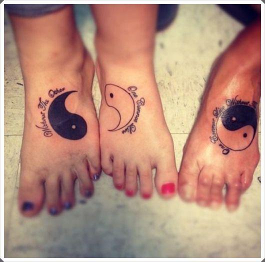 tatuagem mãe e filha divertida