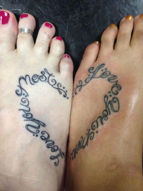 tatuagem mãe e filha frases ideias