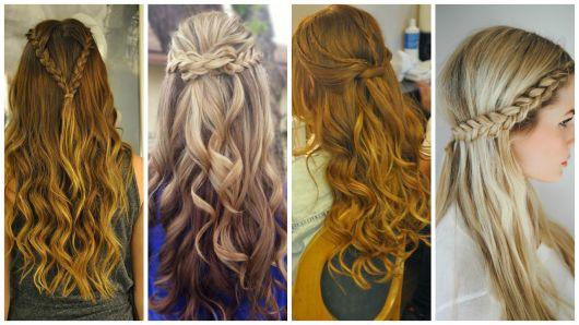 penteados fáceis trancinhas