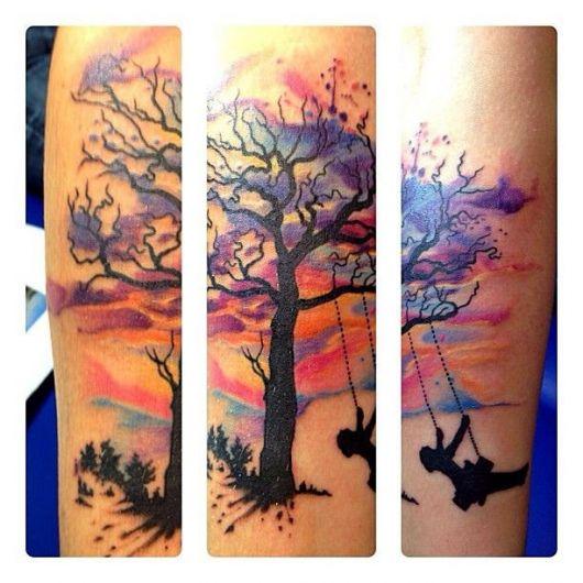 aquarela-tatuagem-de-arvore