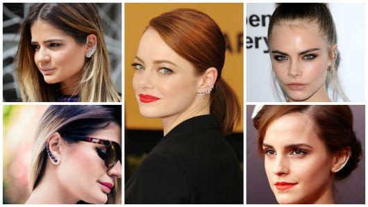 Ear Cuff: modelos, onde comprar e dicas de como usar!