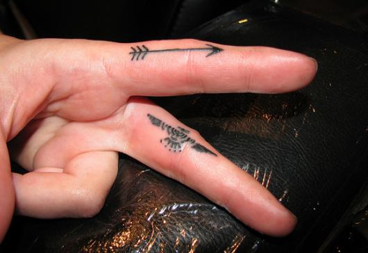 flecha-no-dedo