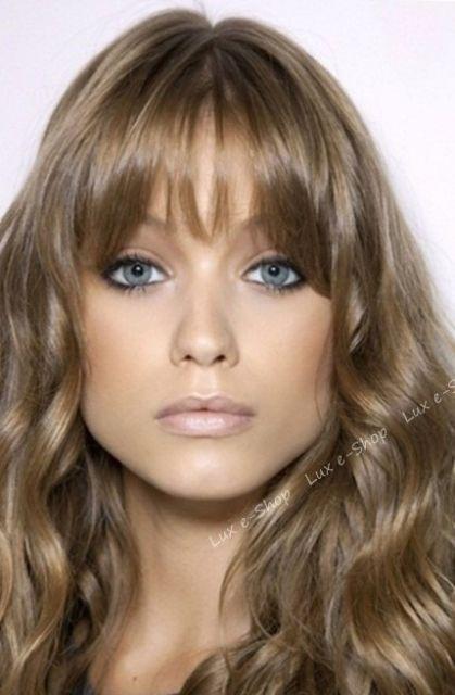 cor cabelo olho azul