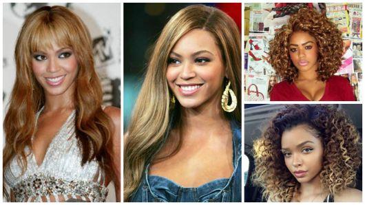 cabelo mulheres morenas e negras
