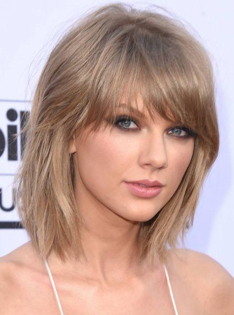 cor cabelo Tailor Swift