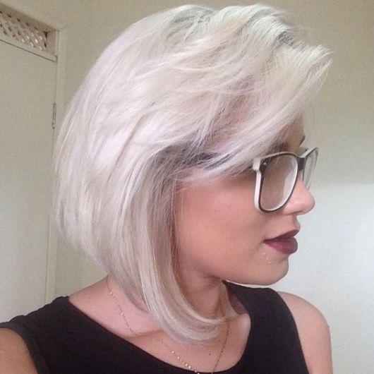 platinado branco