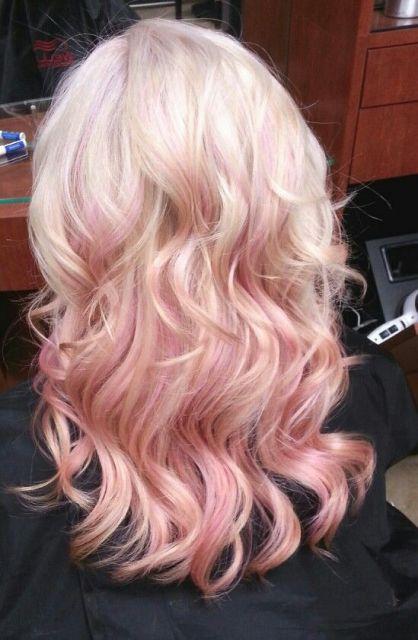 ombré hair colorido