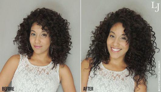 alongamento cabelo cacheado