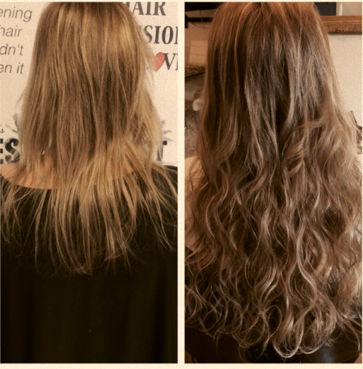cabelo longo cacheado