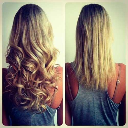 cabelo loiro raiz escura