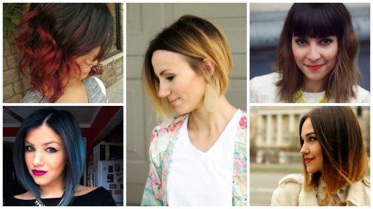 Ombré hair em cabelo curto: tonalidades e como fazer passo a passo!