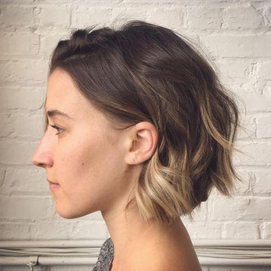 Ombr 233 Hair Em Cabelo Curto Tonalidades E Como Fazer Passo