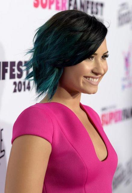 cabelo Demi Lovato