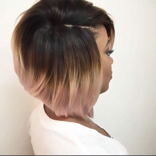 ombré hair morena