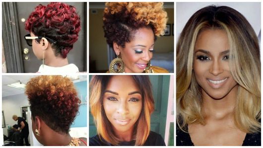 ombré hair morenas e negras