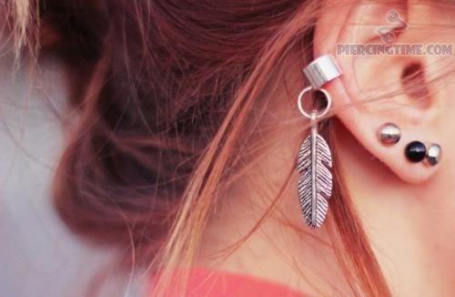 piercing-na-orelha-pena