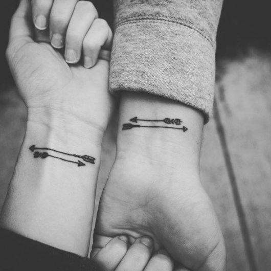 tatuagem-amizade-de-flecha