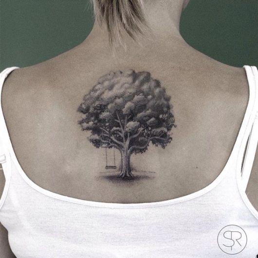 tatuagem-de-arvore-carvalho