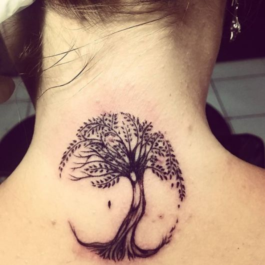 Fabuloso Tatuagem de Árvore: Significado, variações e 70 fotos! PC46