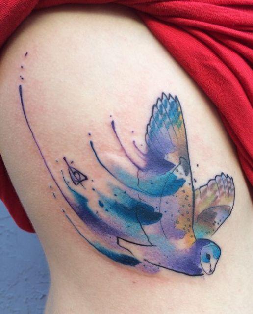tatuagem-harry-potter-aquarela-ideias-como-fazer