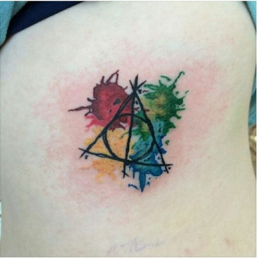 tatuagem-harry-potter-aquarela