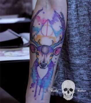 tatuagem-harry-potter-cervo-ideias