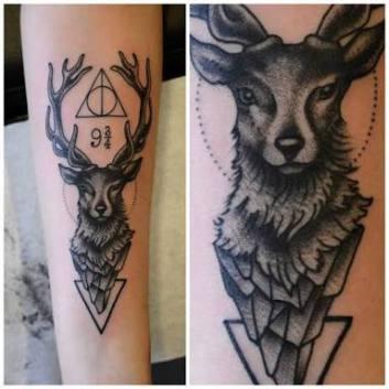 tatuagem-harry-potter-cervo