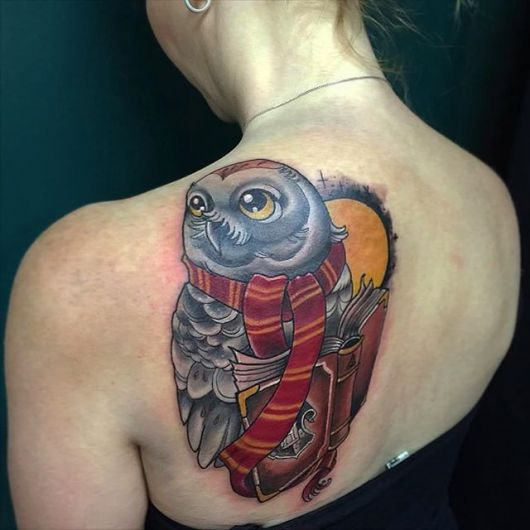 tatuagem-harry-potter-corujas