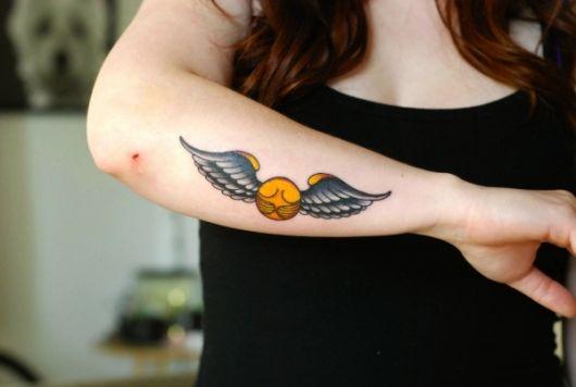 tatuagem-harry-potter-pomo-de-ouro