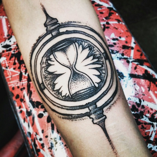 tatuagem-harry-potter-vira-tempo-ideias