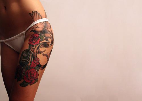 estilos de tatuagem para cobrir estrias