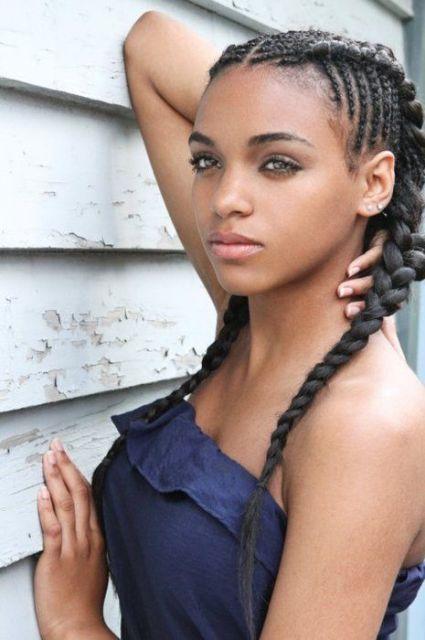 cabelo afro tranças