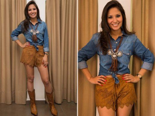 look-para-rodeio-camisa-jeans
