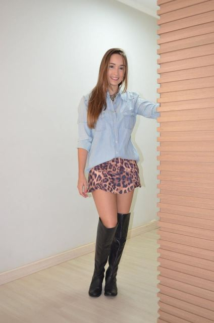 look-para-rodeio-com-camisa-jeans