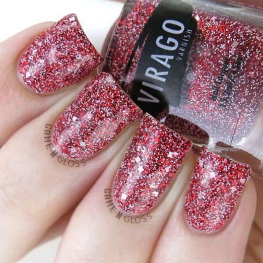unhas-para-o-natal-glitter-vermelho