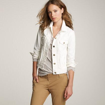 jaqueta branca feminina ideias