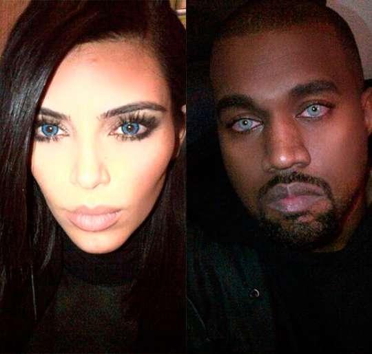 lente-de-contato-azul-keny-west