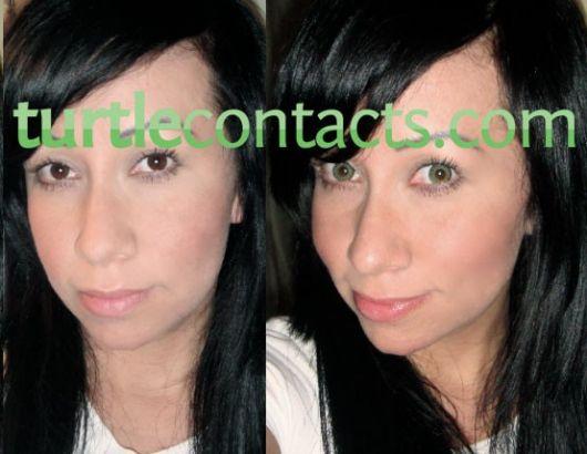lente-de-contato-verde-antes-depois