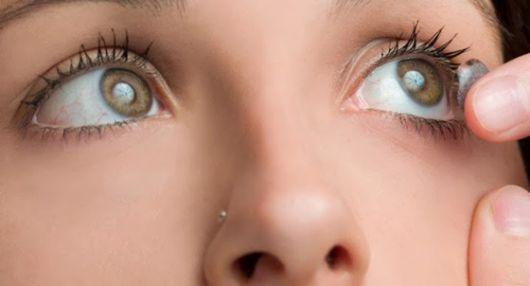 lente-de-contato-verde-cuidados