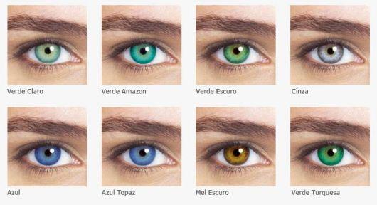 lente-de-contato-verde-tons