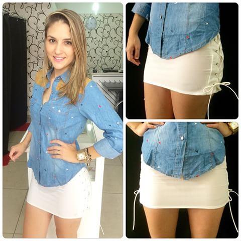 look-para-rodeio-camisa-jeans-e-saia-branca