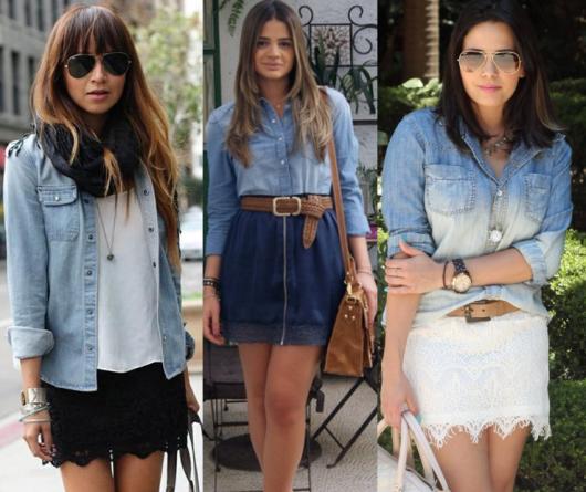 look-para-rodeio-camisa-jeans-formas-de-usar