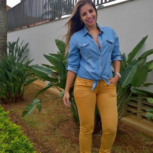 look-para-rodeio-camisa-jeans-look-basico