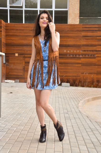 look-para-rodeio-com-vestido-jeans